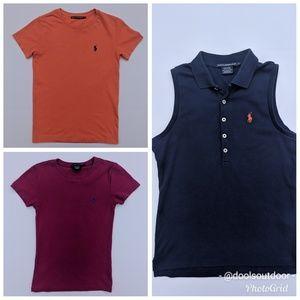 Lot 3! Ralph Lauren S T-Shirts, 2 Sport 1 Regular